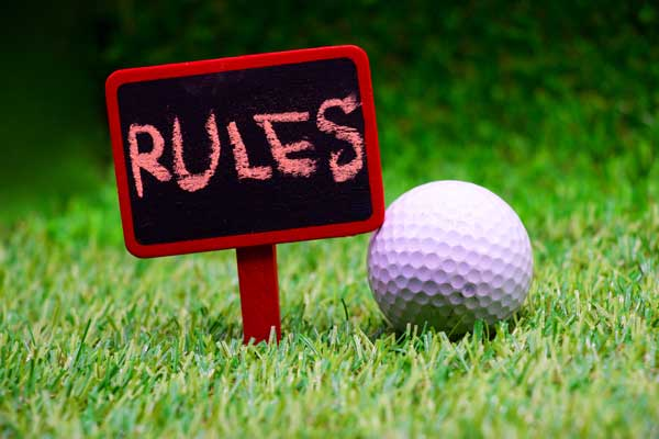 2019 Major Rules of Golf Changes